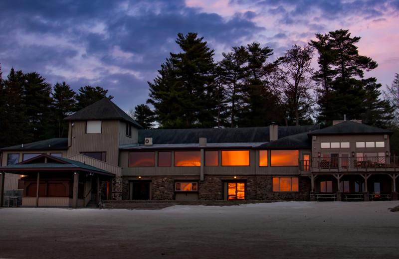 Exterior view of Lake Naomi Club.