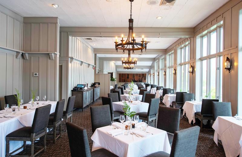Dining at The Greystone Inn.
