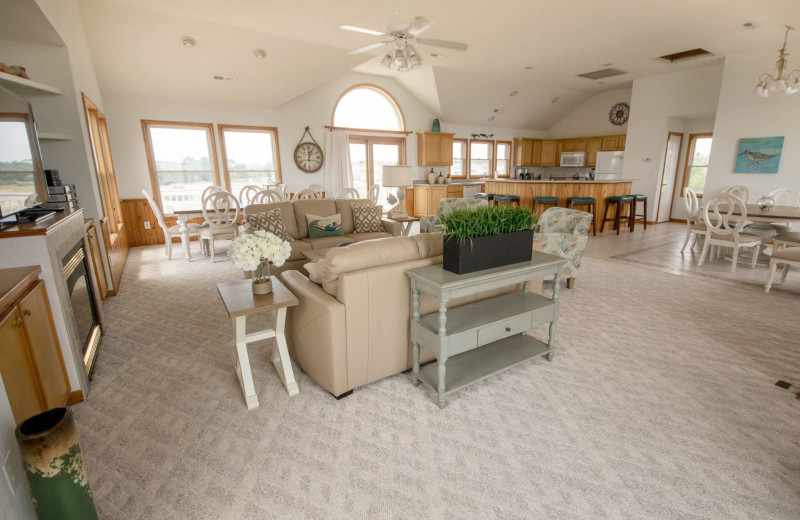 Rental interior at Beach Realty & Construction.
