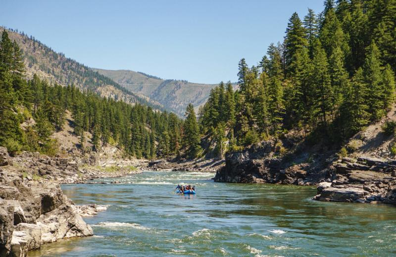 Rafting at The Green O.