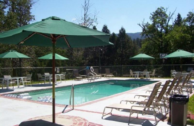 Outdoor pool at Sierra Sky Ranch Resort.