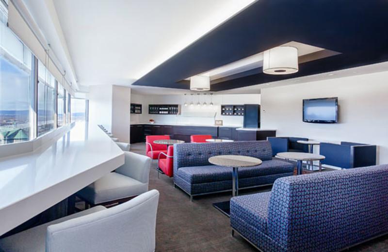 Lounge at Delta Quebec.