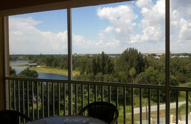 Balcony view at Westgate Town Center.
