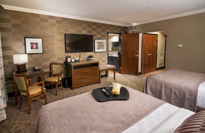 Guest room at Best Western Helena Great Northern Hotel.