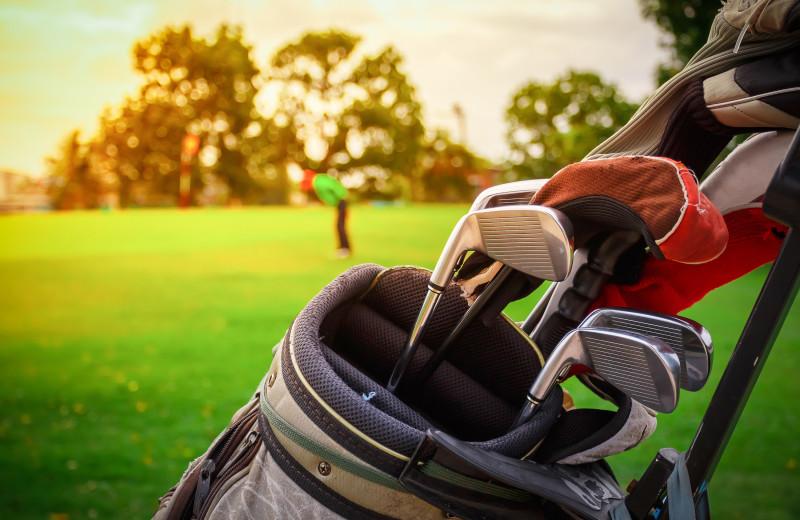 Golf near Otter Tail Beach Resort.