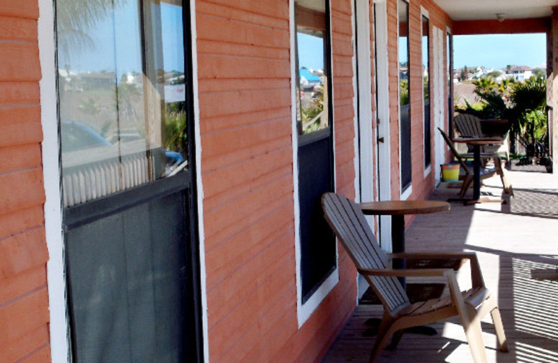 Cabin Deck at Last Resort