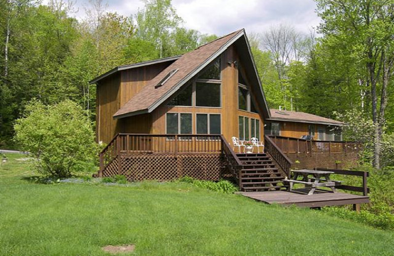 Vacation rental exterior at Loon Reservation Service.