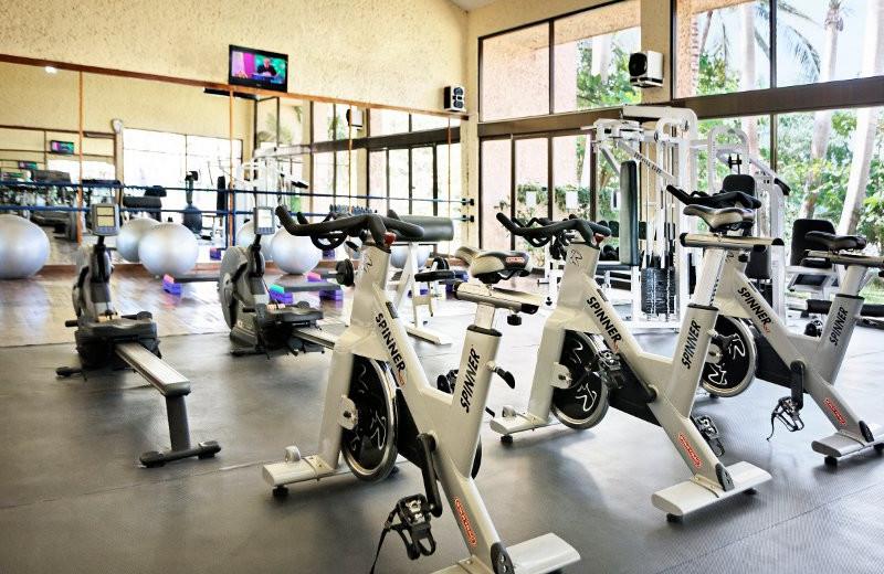 Fitness Center at  Barcelo Huatulco Beach