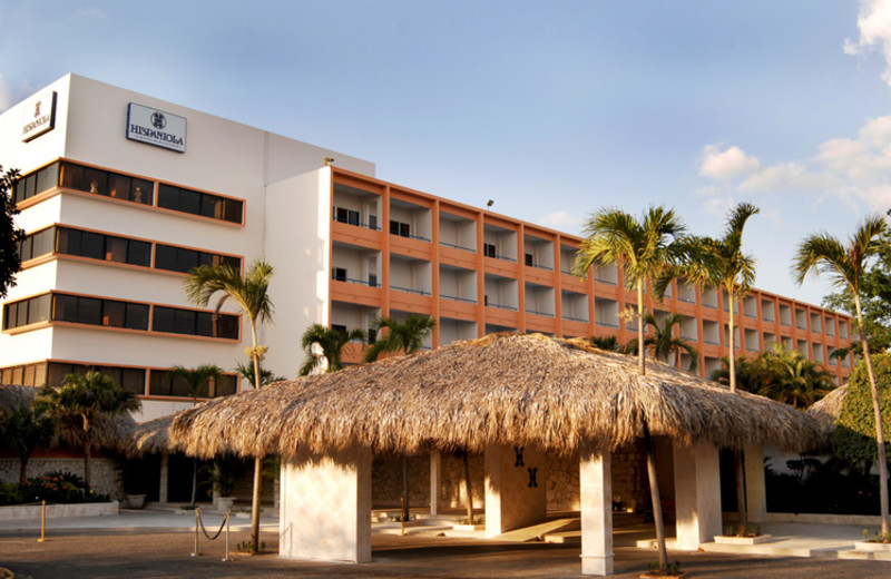 Exterior view of Hispaniola Hotel.