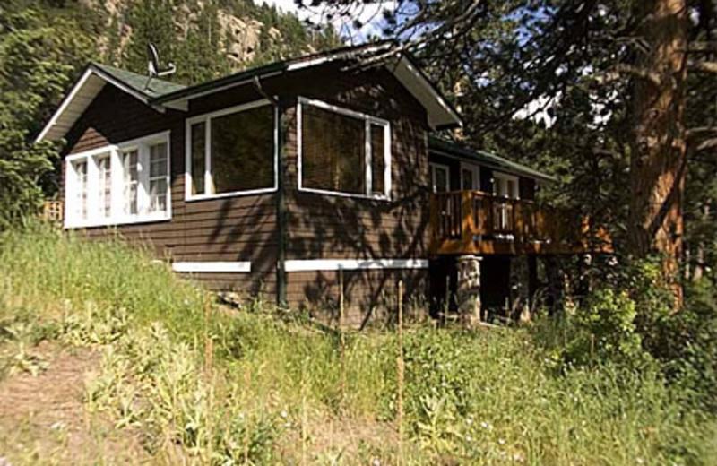 Lazy R Cottages   Elk Ridge Retreat Vacation Rental Cabin. 2760 Fall River  Road Estes Park ...