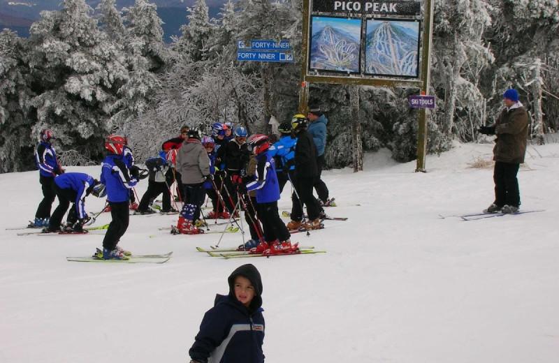 Skiing at GetAway Vacations.