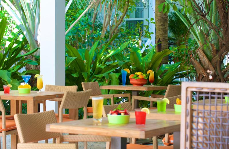 Dining at Parrot Key Resort.