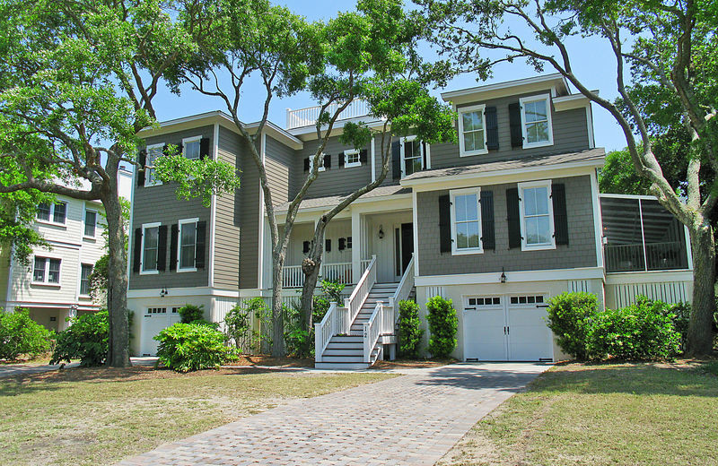 Rental exterior at Exclusive Properties - Isle of Palms.