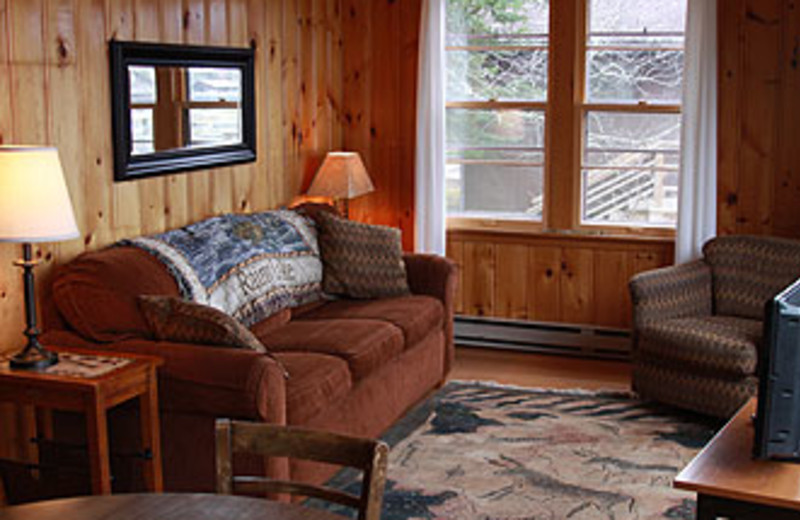 Cabin Interior at Thunderbird Lodge