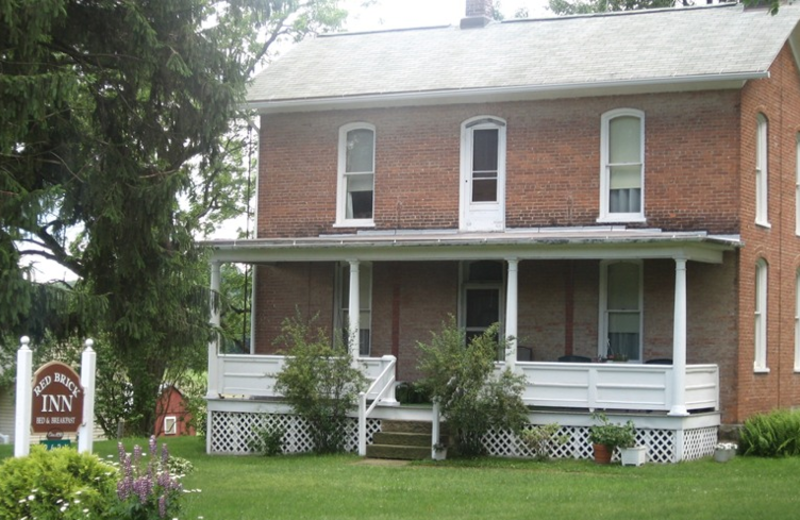 Exterior view of Red Brick Inn.