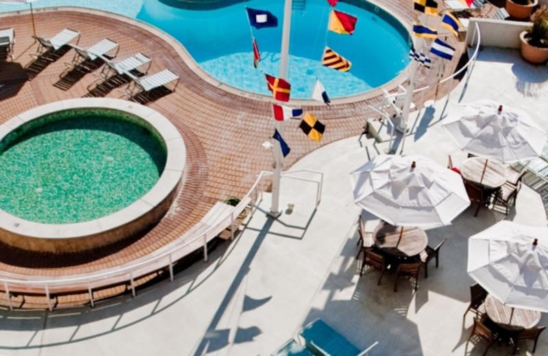 Pool Area at Moreys Pier Resorts