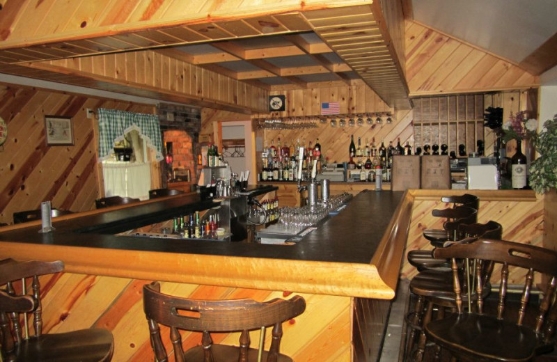 The bar at Cold Spring Lodge.