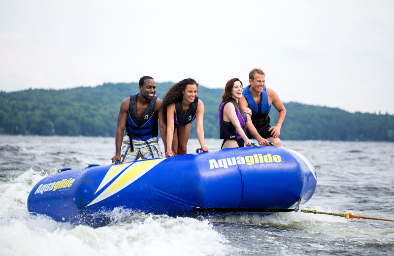 Lake activities are available at Cove Haven, Pocono Palace and Paradise Stream in the warmer months.