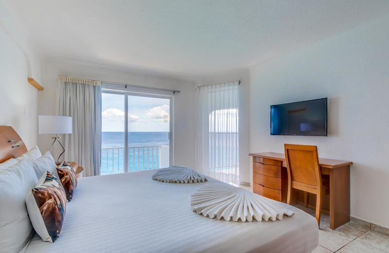 Guest room at Coral Princess Hotel & Resort.