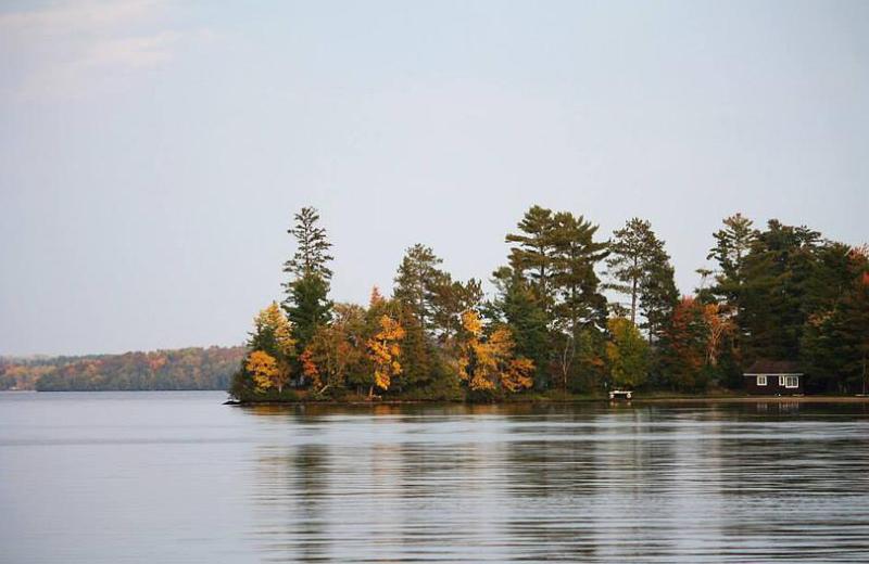 Lake view at  North Country Inn.