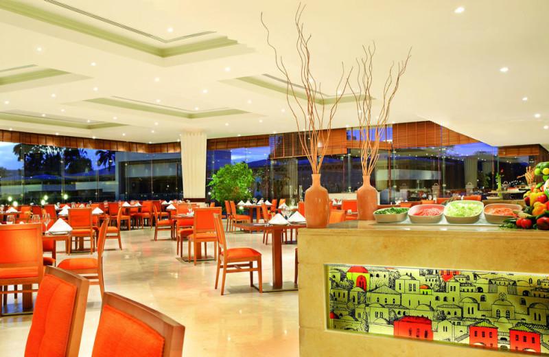 Dining at Aswan Oberoi Hotel & Spa.