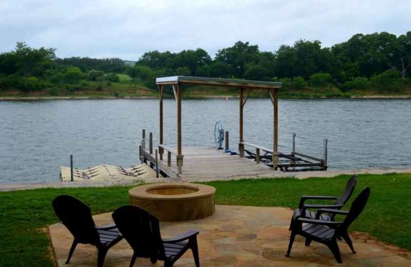 Dock at Lazy Shores.