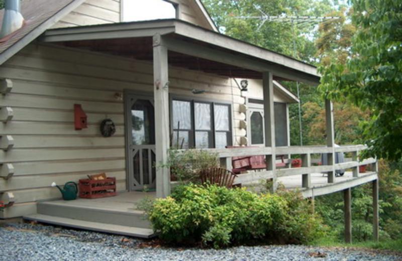 Blue Ridge Vacation Rentals Cabin Cozy 2 Bedroom Mountain