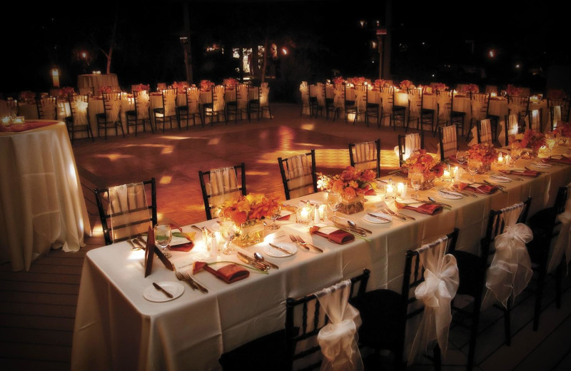 Weddings at Red Mountain Resort & Spa.