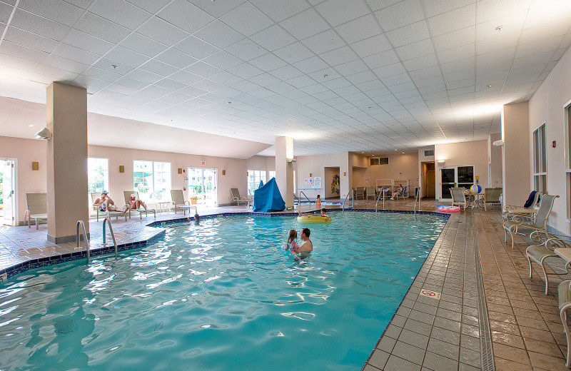 Indoor pool at The Osthoff Resort.