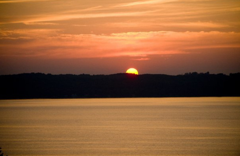 Beautiful sunsets at ParkShore Resort.