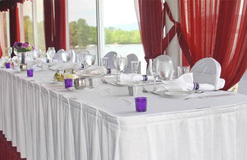 Wedding reception at The Georgian Lakeside Resort.