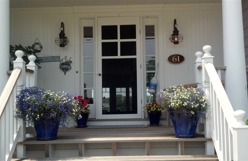 Front Entrance at Seatuck Cove House