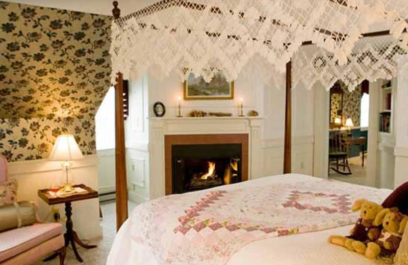 Jonathan Cummings Luxury room View at Rabbit Hill Inn.