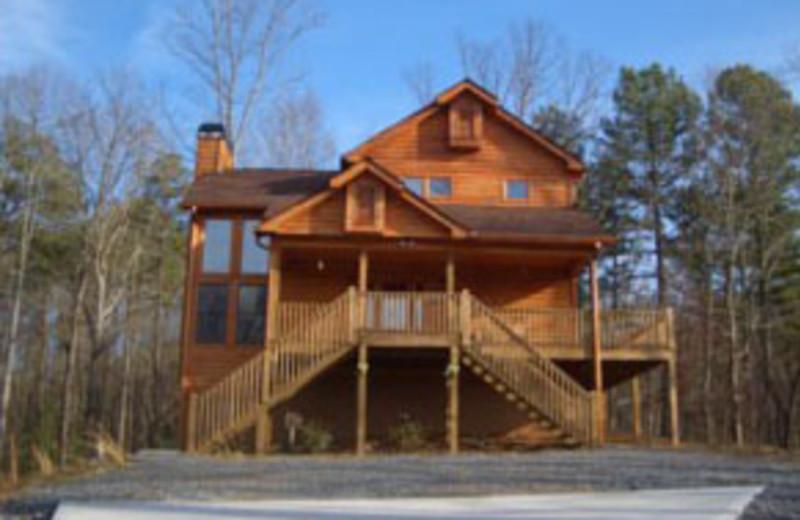 Rental Exterior at Mountain Memories Cabin Rentals