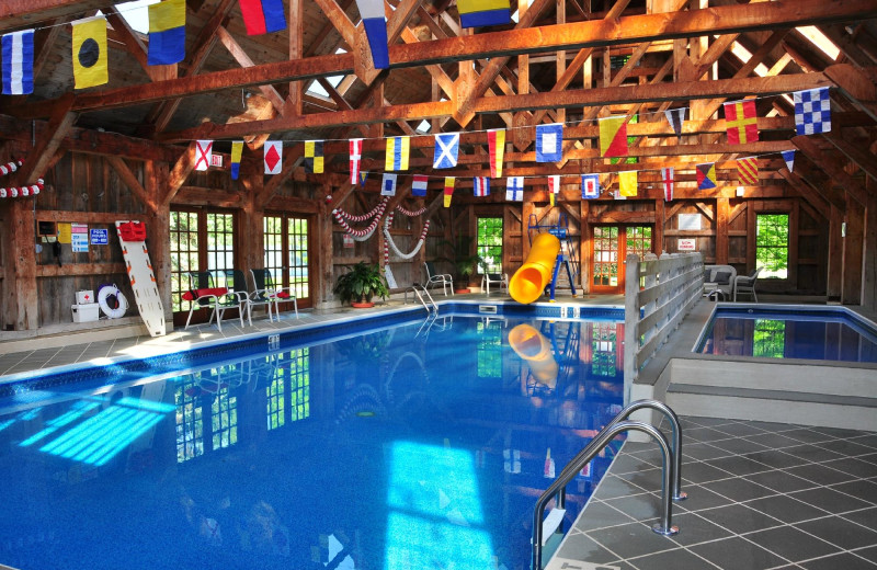 Indoor pool at Tyler Place Family Resort.