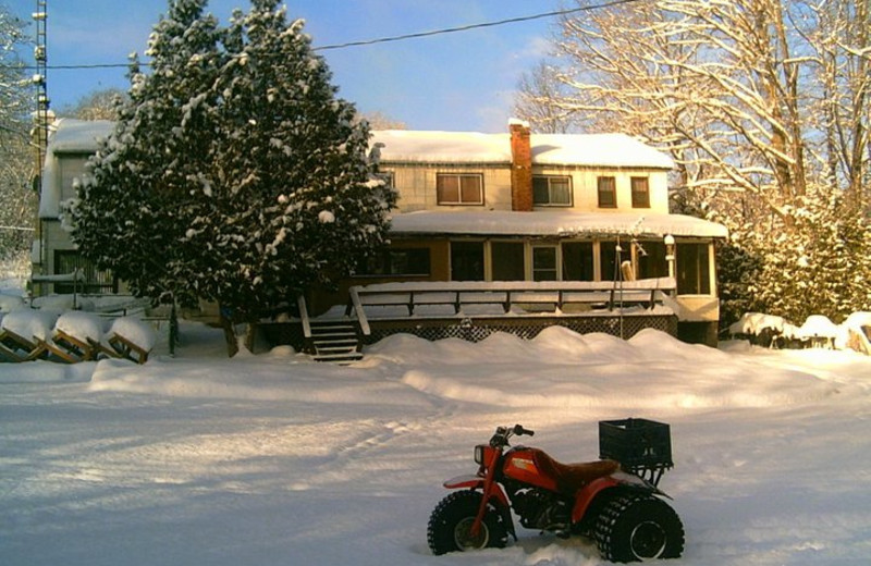 Winter at Loralea Country Inn Resort