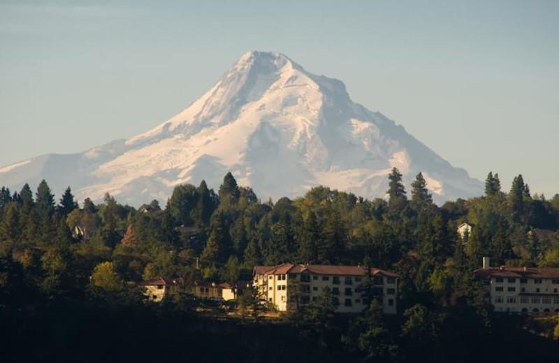 Mountain  at Columbia Gorge Hotel.