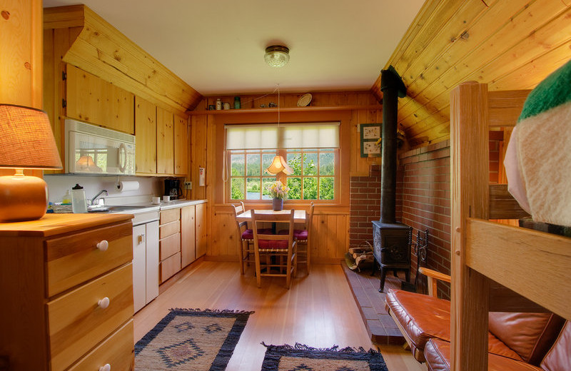 Interior View at  House on Metolius