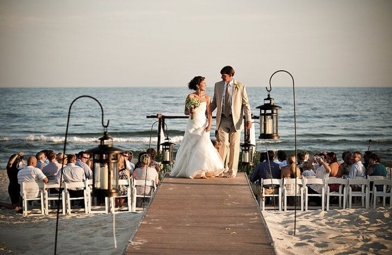 Wedding at Resort Vacation Properties of St. George Island.