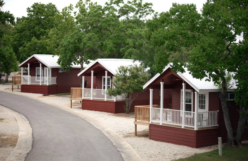 Cottages at Hill Country RV Resort & Cottage Rentals.
