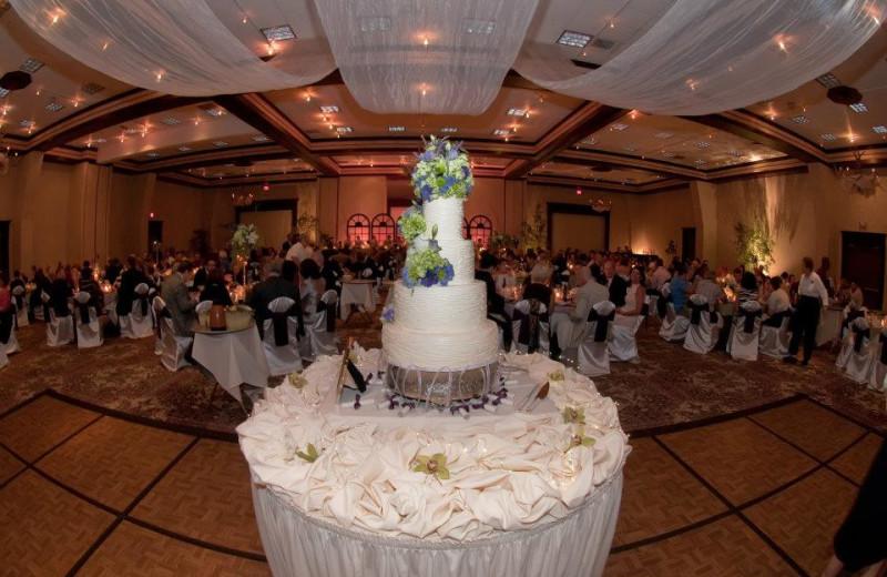 Wedding reception at Sawmill Creek Resort.