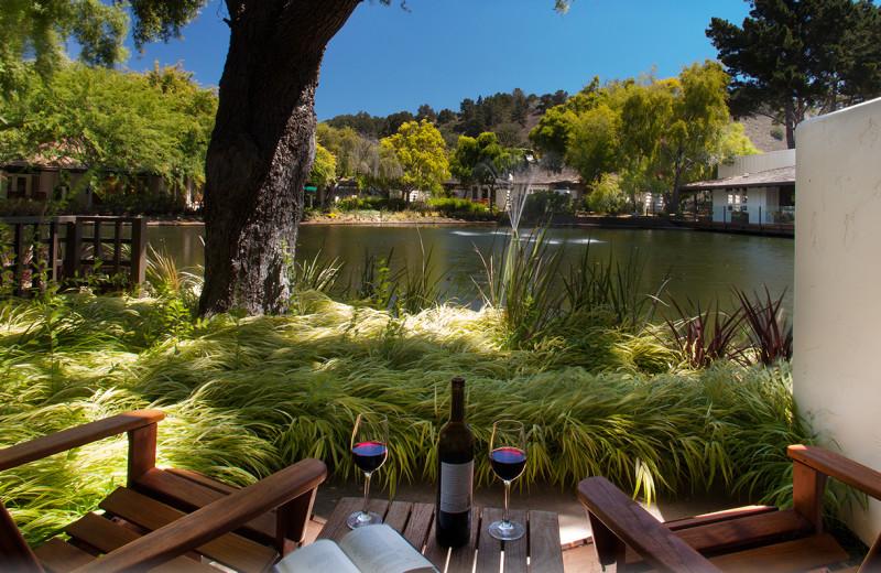 Relax at Quail Lodge Resort.