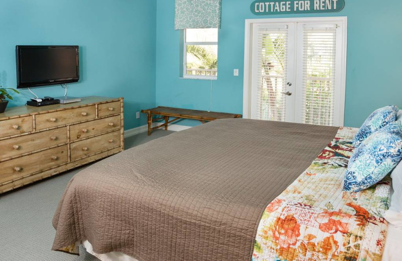 Rental bedroom at Kingfisher Vacations, Inc.