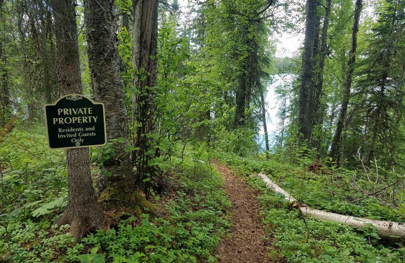 Trail at The Alaska Adventure Company.