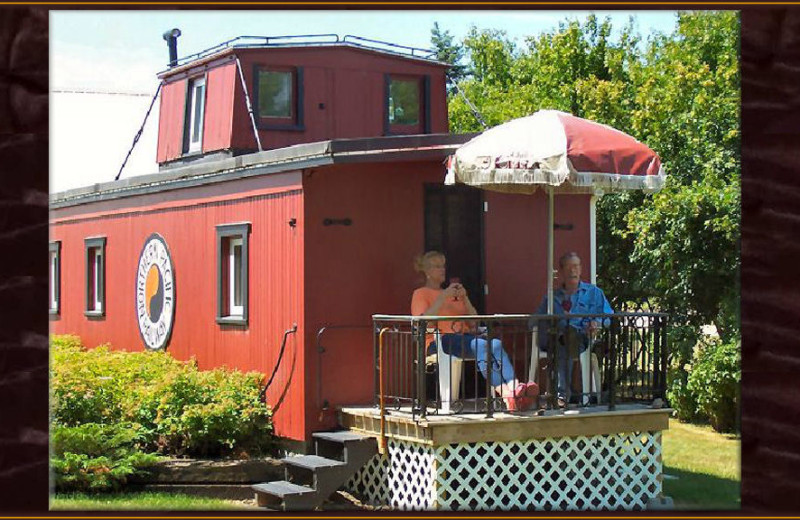 Exterior view of Whistle Stop Inn Bed & Breakfast.