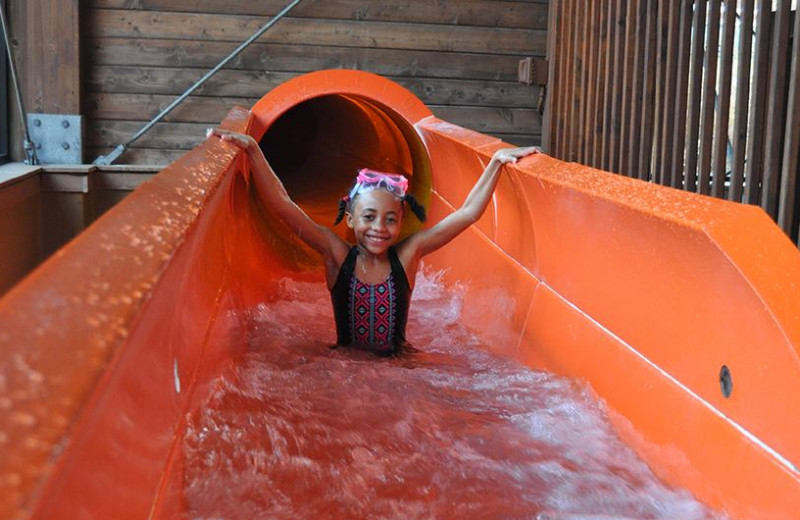 Water slide at Rocking Horse Ranch Resort.
