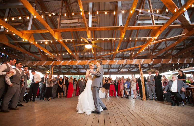 Weddings at Hideout on the Horseshoe.