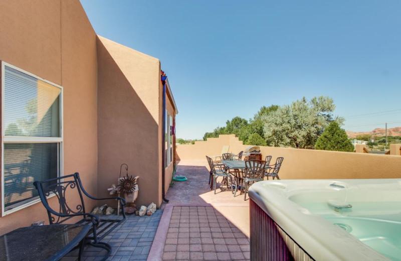 Rental exterior at Moab Condo Rentals.