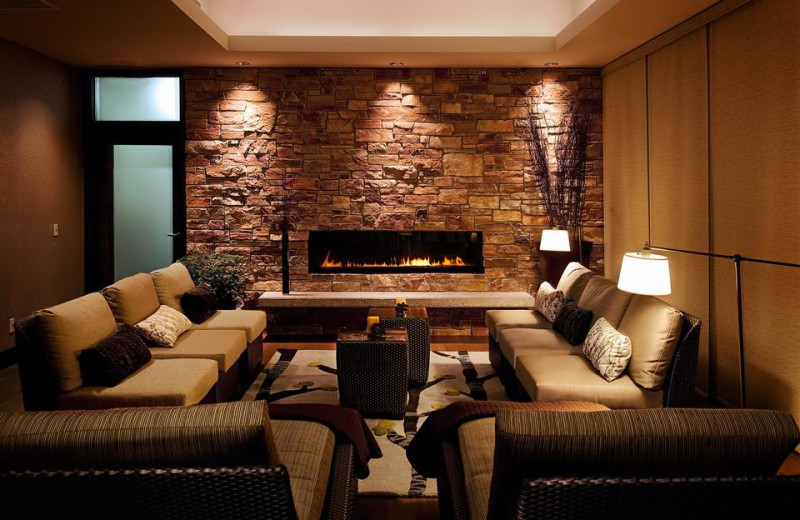 Spa lounge at Crystal Mountain Resort and Spa.