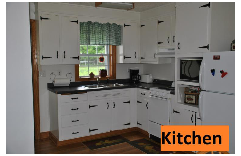 Kitchen at The River House.